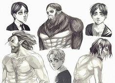 Geisha Jaeger | Zeke | Eren | Shingeki no Kyojin | Attack on titan | SNK