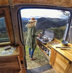 Adorable Wood Interior Ideas For Sprinter Van Camper, Volkswagen campers stick out from the crowd. A Sprinter van camper is readily the most flexible type of Sprinter RV. Our very last RV had one small ba., Source by longanlongan interior Van Conversion Kitchen, Van Conversion Interior, Van Interior, Conversion Van, Interior Walls, T4 Camper Interior Ideas, Sprinter Van Conversion, Van Conversion Campervan, Do It Yourself Camper