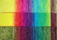 Verfvirus: Heldere kleurenserie in 3 gradaties