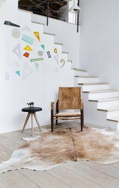 Arkitekttegnet trappe i træ af arkitekt Rasmus Skaarup Stairs, Inspiration, Design, Ideas, Chalets, Biblical Inspiration, Stairway, Staircases, Ladders