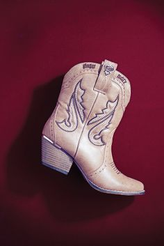 Cowboy style boots from Ginger Mary! Shop online at www.truworths.co.za