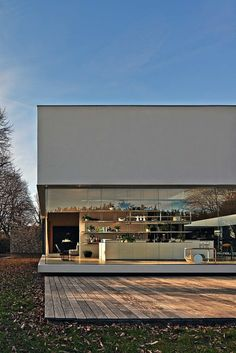 Glass House situated in Giussano, Italy