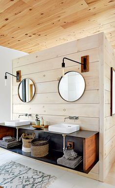 In Ontario's quaint yet hip Prince Edward County, a family finds solace in simple living. [Image: Donna Griffith   Design: Jennifer Garnett   Styling: Christine Hanlon] #StyleAtHome #cottagestyle #cottagedesign #rusticcottages #moderncottage #bathroomdecor