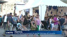 Un collectif met sur pied un festival au cœur de la Cité lausannoise.