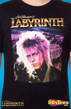 Jareth Labyrinth T-Shirt: Labyrinth Mens T-Shirt