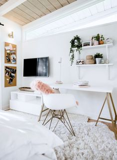 Room Ideas Bedroom, Teen Room Decor, Bedroom Inspo, Bedroom Ideas For Teens, Ikea Room Ideas, Study Room Decor, Modern Room Decor, Bedroom Rugs, Teen Bedroom Designs