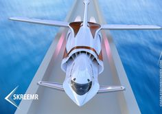 In flight, THE FUTURE FLIES AT THE SPEED OF SOUND Development is taking place of amazingly lightweight and fast commercial aircraft, starting with Skeemr: from London to New York in just 30 minutes!  #BAE #BostonSpikeAerospace #canada #CharlesBombardier #Fashionableflight #flight #future #Imaginactive #NASA #NevadaAerionCorporation #recagroup #skeemr #SpikeS512 #supersonicflight #theAS2 #labels #hangtags #packaging