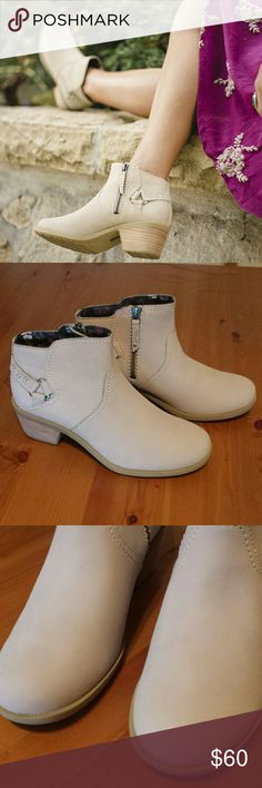 Teva Foxy Ankle Boots Size 8.5 Excellent condition see photos. Teva foxy ankle boots in taupe ss 8.5 Teva Shoes Ankle Boots & Booties