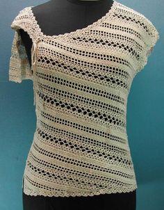 Crochet spring top