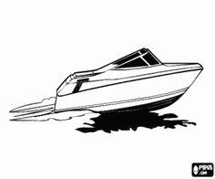 Motorboot malvorlage  malvorlagen Das Segelboot und die Möwen ausmalbilder | Visualize ...