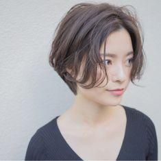 Pin on ヘアスタイル Asian Haircut Short, Short Hair Undercut, Asian Short Hair, Girl Short Hair, Short Bob Hairstyles, Undercut Hairstyles, Diy Hairstyles, Short Hair Cuts For Women, Short Hair Styles