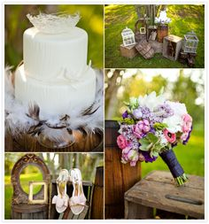Vintage Woodland Wedding | Vanessa Voth