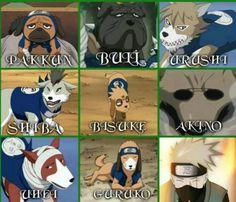 kakashi's ninja hounds | Tumblr