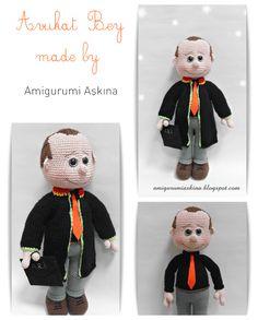 amigurumi,amigurumi bebek yapılışı,amigurumi avukat,amigurumi lawyer,amigurumi tarifi,orgu oyuncak yapılışı,crochet pattern,amigurumi free pattern