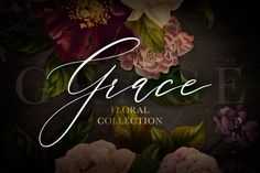 Ad: Grace Floral Collection by Eclectic Anthology on This product is also listed in my NEW Flower Power Mega Bundle Vol. 2 at a discounted rate! See it here Introducing Grace Floral Collection. Watercolor Illustration, Floral Watercolor, Graphic Illustration, Illustrations, Fruit Flowers, Garden Deco, Botanical Flowers, Day For Night, Rose Design
