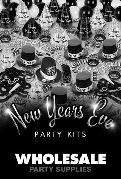 End the year right with our New Year's Eve party supplies. A New Year's Eve party is a big deal. After all, people can only attend one per year. So if they're going to yours you have to make sure it's perfect. That means decorations, favors, noise makers, and fun hats. Whether you're having an intimate gathering with just a few friends or an extravaganza with 100 guests, we have what you need to make it festive!