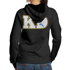 Ano Womens Hoodie No35 KD Size L Black ** For more information, visit image link.  This link participates in Amazon Service LLC Associates Program, a program designed to let participant earn advertising fees by advertising and linking to Amazon.com.