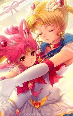 Sailor Moon: Sailor Moon and Sailor Chibi Moon