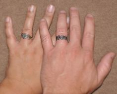 Our tattoo rings
