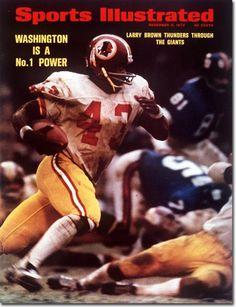 Larry Brown, Football, Washington Redskins