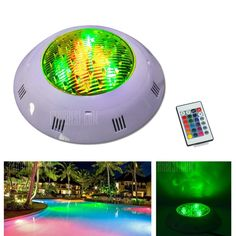 🏷️🐼 Jiawen 9W RGB Round LED Underwater Light IP68 Swimming Pool Fountain Spotlight Lamp with Remote Control AC 12 - 24V-RGB  - 42.28€    Features: Fully submersible and perfectly sealed, waterproof spotlight adds a dazzle of color to your pond or swimming pool. Super bright and long-lasting, equipped with low-power high brightness LED as a light source. There are red, green, blue as well as color combinations jump to...  #BonsPlans, #Deals, #Discount, #Gearbest,
