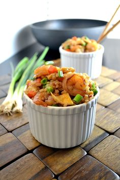 Indonesian Shrimp Fried Rice #Food #Recipe #Yummy #Meals #Dinner #Chef #Cook #Bake #Culinary