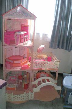 1000 images about nostalgie on pinterest barbie polly pocket and mattel barbie. Black Bedroom Furniture Sets. Home Design Ideas