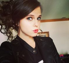 Hair and makeup- Tiffany alvord Tiffany Alvord, Tumblr Girls, Classy And Fabulous, These Girls, Life Is Beautiful, Character Inspiration, My Hair, Hair Makeup, Hair Beauty