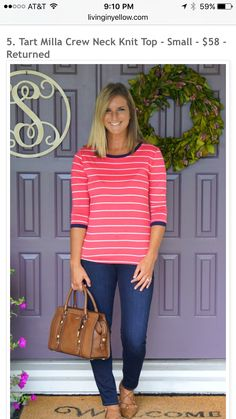 Love this bright top!