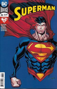 DC Superman Universe Rebirth comic issue 36 Limited variant