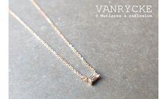 Vanrycke collier Georgia solitaire or #vanrycke #collier #necklace #diamant #diamond #orrose #rosegold