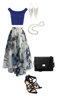 """Untitled #218"" by sarahmarie2014 ❤ liked on Polyvore featuring Chicwish, WearAll, Schutz, Aspinal of London, Jules Smith and DaVonna"