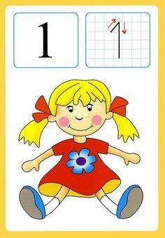 Preschool and Homeschool Numbers Preschool, Math Numbers, Preschool Math, Math Games, Preschool Activities, Number Flashcards, Kindergarten Projects, Kids Math Worksheets, Tot School
