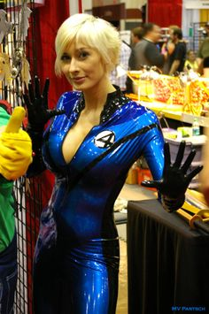 Sue Richards * Invisible Woman (Fantastic Four) ~ Cos Play