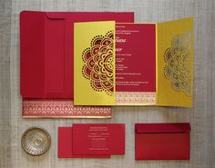 Mandala Invitación Set