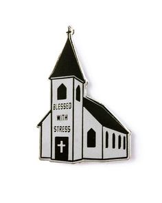 Blessed With Stresshttp://www.strange-ways.com/collections/pins/products/blessed-with-stress-lapel-pin Lapel Pin