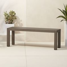 Shop matera dining bench.   Jonas Wahlström's outdoor bench is a minimalist feast for the design eye.