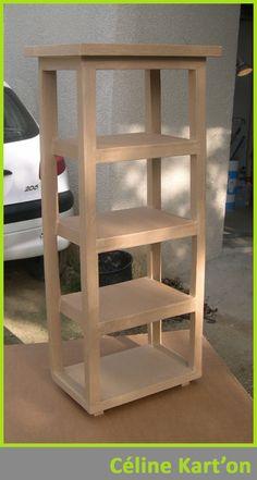 cardboard furniture – Céline Kart'on - New Sites Diy Cardboard Furniture, Cardboard Design, Cardboard Crafts, Recycled Furniture, Funny Furniture, Diy Furniture, Karton Design, Carton Diy, Diy Karton