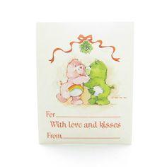 Care Bears Gift Tag Cheer & Good Luck Bear by BrownEyedRoseVintage