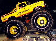 Go to a Monster Truck Show