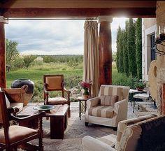 Designer's Own Homes: Linda Warren : Architectural Digest