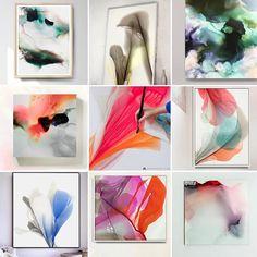 Abstract Art by Marta Spendowska.