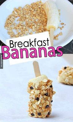 Frühstücks Banane