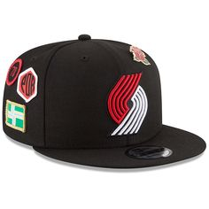 cheap for discount c8a1a ca303 Men s Portland Trail Blazers New Era Black 2018 Draft 9FIFTY Adjustable Hat,  Your Price
