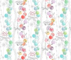 Patio Lights fabric by kayajoy on Spoonflower - custom fabric
