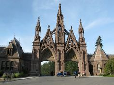 Greenwood cemetery,  between park slope and sunset park Brooklyn