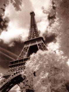 Eiffel Tower, Paris, France Photographic Print by Jon Arnold at Art.com