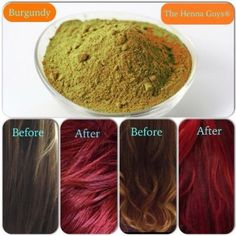 How I dyed my hair with henna without any hints of red | Hennas ...