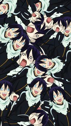 Yato - Noragami the perfect wallpaper Anime Noragami, Yatogami Noragami, Haikyuu Anime, Future Wallpaper, Love Wallpaper, Perfect Wallpaper, Anime Kunst, Anime Art, Yatori