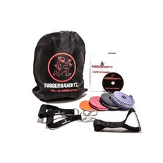 Rubberbanditz MGP-003 01 Deluxe Mobile Gym Kit, 2 Lbs (0.9 Kg) Deluxe Package